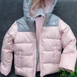 The North Face🌸Snow cozy jacket girls sz 6/6